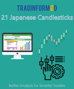 21 Japanese Candlesticks Spreadsheet