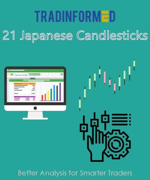 21 Japanese Candlesticks Spreadsheet